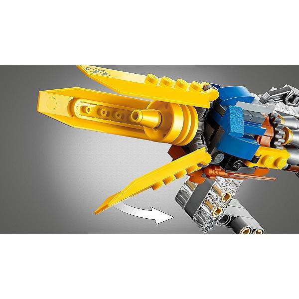 LEGO Star Wars Jeu de construction /Édition 20/ème Anniversaire Le Podracer d/'Anakin 75258