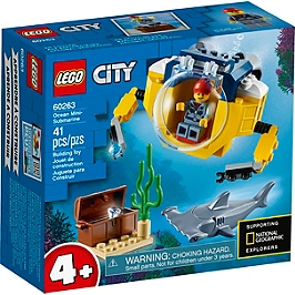 Lego® City - Le Mini Sous-Marin - 60263 - 60263