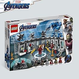 LEGO® Marvel Super HeroesTM - La salle des armures d'Iron Man - 76125 - 76125
