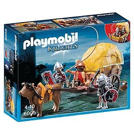 PLAYMOBIL - Chevaliers De L'aigle Et  Charrette - 6005
