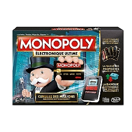 Monopoly Electronique Ultime - Hasbro - B66771010