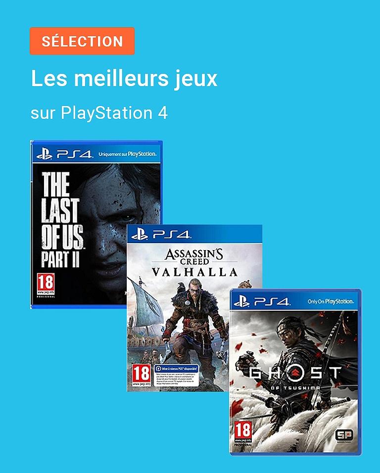 Les meilleurs jeux sur PlayStation 4