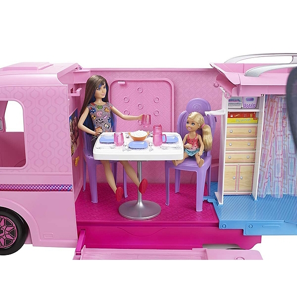 Barbie Camping Car Transformable Barbie