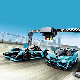 Lego® Speed Champions - Formula E Panasonic Jaguar Racing Gen2 & Jaguar I-Pace Etrophy - 76898 - 76898