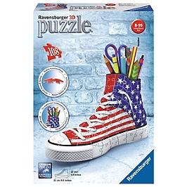 Puzzle 3D Sneaker - American Style - Licences autres - 4005556125494