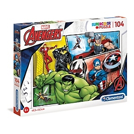 SuperColor 104 pièces - The Avengers - Marvel - 27284.6