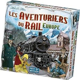 Les Aventuriers Du Rail D'europe - Days Of Wonder - AVE02