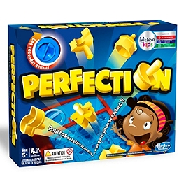 Perfection - Jeu De Societe De Rapidité - Hasbro - C04321010