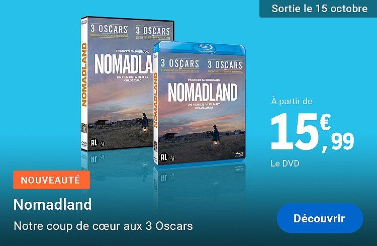 Nomadland, nouveauté DVD&Blu-ray
