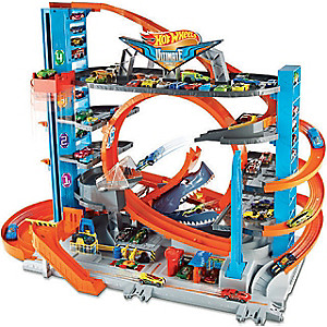 Garage Hot Wheels Ultimate Leclerc