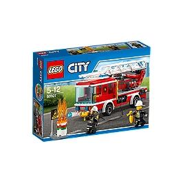 LEGO - LEGO® City - Le camion de pompiers avec échelle - 60107 - 60107