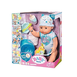 Baby Born Soft Touch - Garçon 43Cm  - Aucune - BBY01