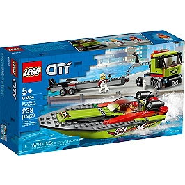 Lego® City - Le Transport Du Bateau De Course - 60254 - 60254