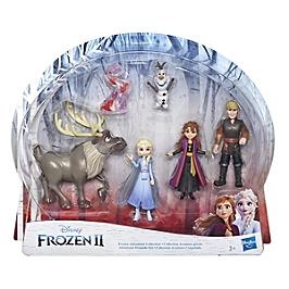 Disney La Reine Des Neiges 2 - Poupees Elsa, Anna, Kristoff, Olaf Et Sven - Coffret De 5 Mini Figurines - Disney Reine Des Neiges - E5497EU40