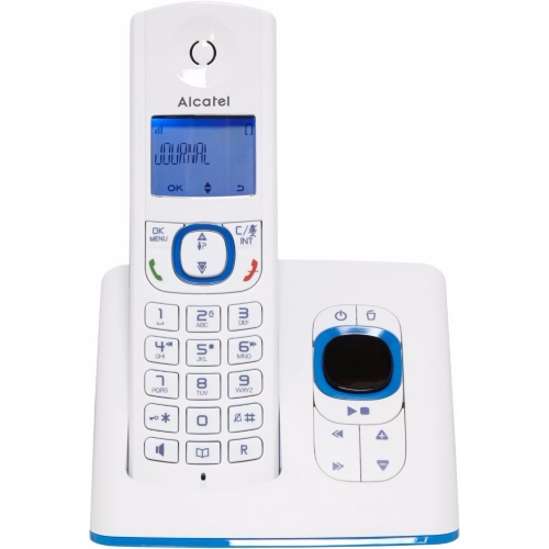 dect alcatel f530 solo r p bleu e leclerc high tech. Black Bedroom Furniture Sets. Home Design Ideas