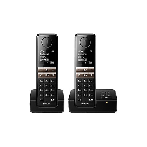 t l phone sans fil philips d4652 duo e leclerc high tech. Black Bedroom Furniture Sets. Home Design Ideas
