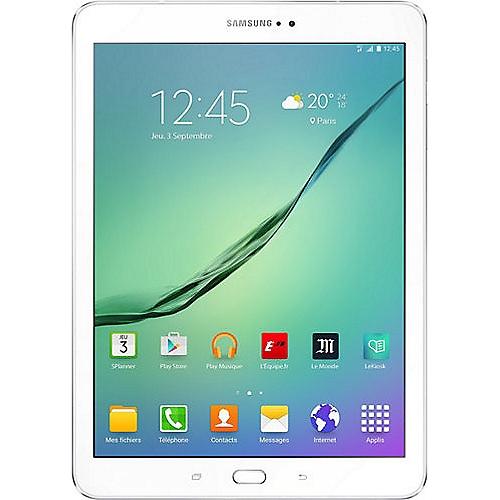 tablette 9 7 quot samsung galaxy tab s2 blanche e leclerc high tech