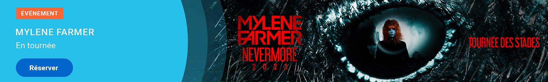 Offre billetterie Mylène Farmer