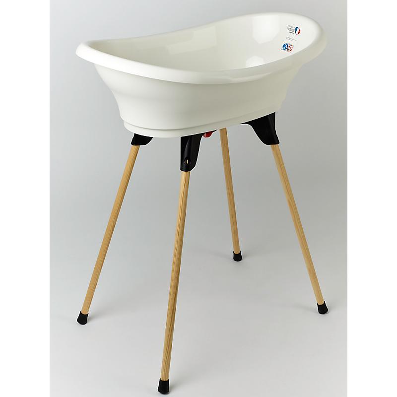 KIT VASCO blanc muguet (baignoire, pied de baignoire et tuyau de vidange) - THERMOBABY