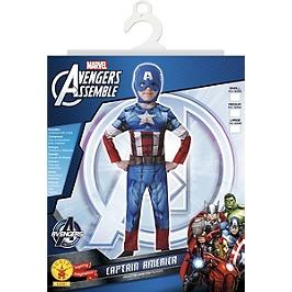 Déguisement Classique Captain America - Taille L - Marvel - Captain America - I-610261L