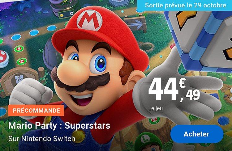 Précommande Mario Party : Superstars