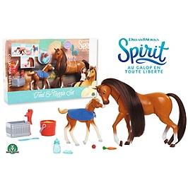 Spirit - Coffret Maman & Poulain Avec Accessoires - Universal - PRT09
