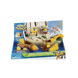 Véh Connect Todd & Donnie's Dig Rig - Super Wings - EU720840B