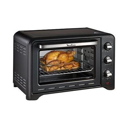 2 en 1 Barbecue électrique et mini four à pain plat à rôtir