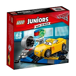 LEGO - Lego® Juniors Disney Pixar Cars 3 - Le Simulateur De Course De Cruz Ramirez - 10731 - 10731