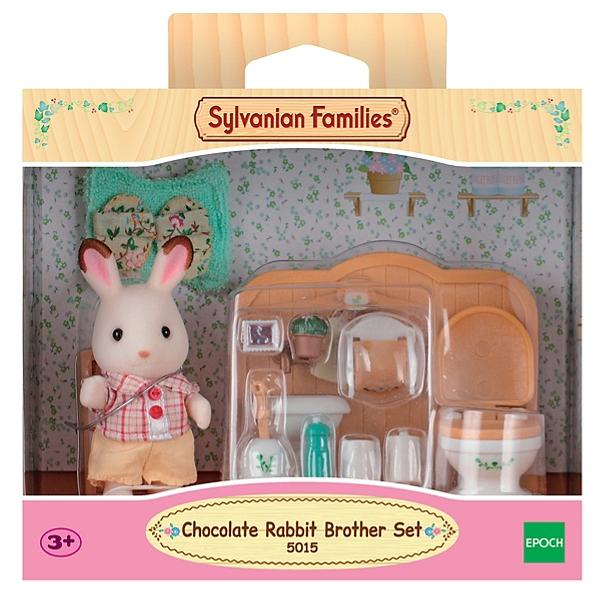 Le Frère Lapin Chocolat Et Toilettes Sylvanian Families