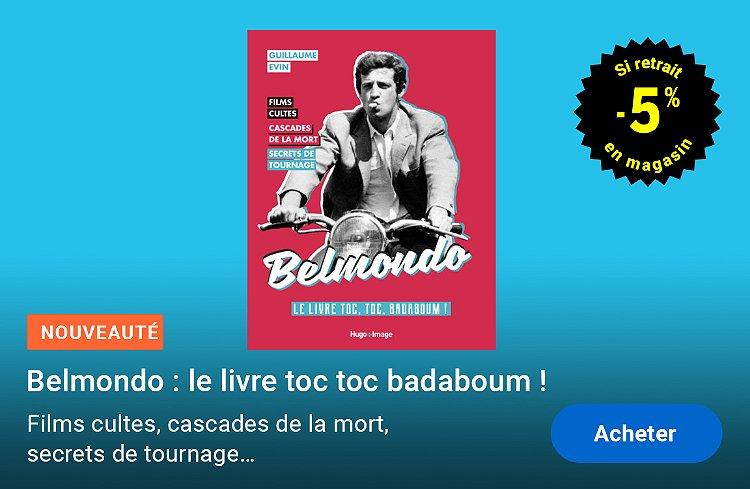 Belmondo - le livre toc, toc, badaboum !