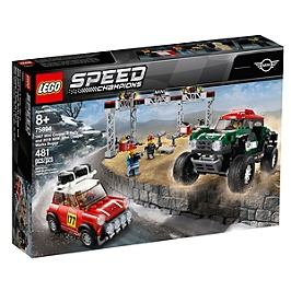 LEGO® Speed Champions - Mini Cooper S Rally 1967 et Mini John Cooper Works Buggy 2018 - 75894 - 75894