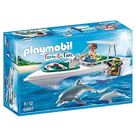 PLAYMOBIL - Bateau De Plongée  - 6981