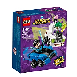 LEGO - LEGO® DC Comics Super Heroes - Mighty Micros : NightwingTM contre Le JokerTM - 76093 - 76093