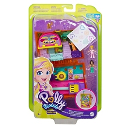 Polly Pocket - Coffret Safari Dans La Jungle - Mini-Poupée - 4 Ans Et + - Polly Pocket - GKJ53