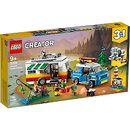 Lego® Creator - Les Vacances En Caravane En Famille - 31108 - 31108