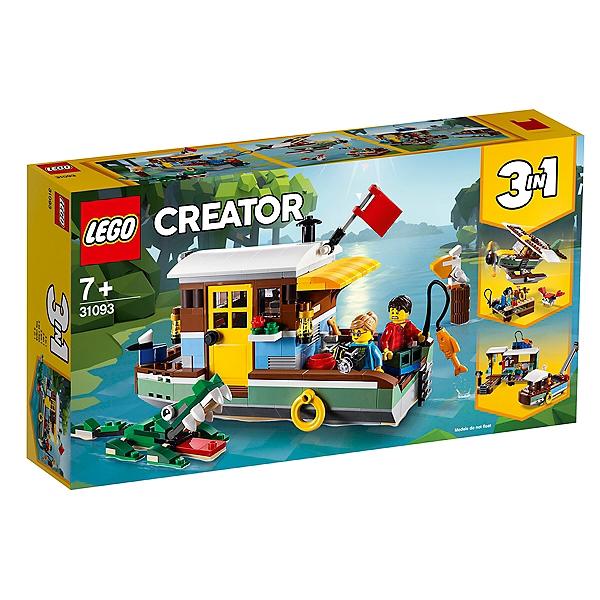 31093 Péniche Creator Bord Lego® Au Fleuve La Du F1clKJ