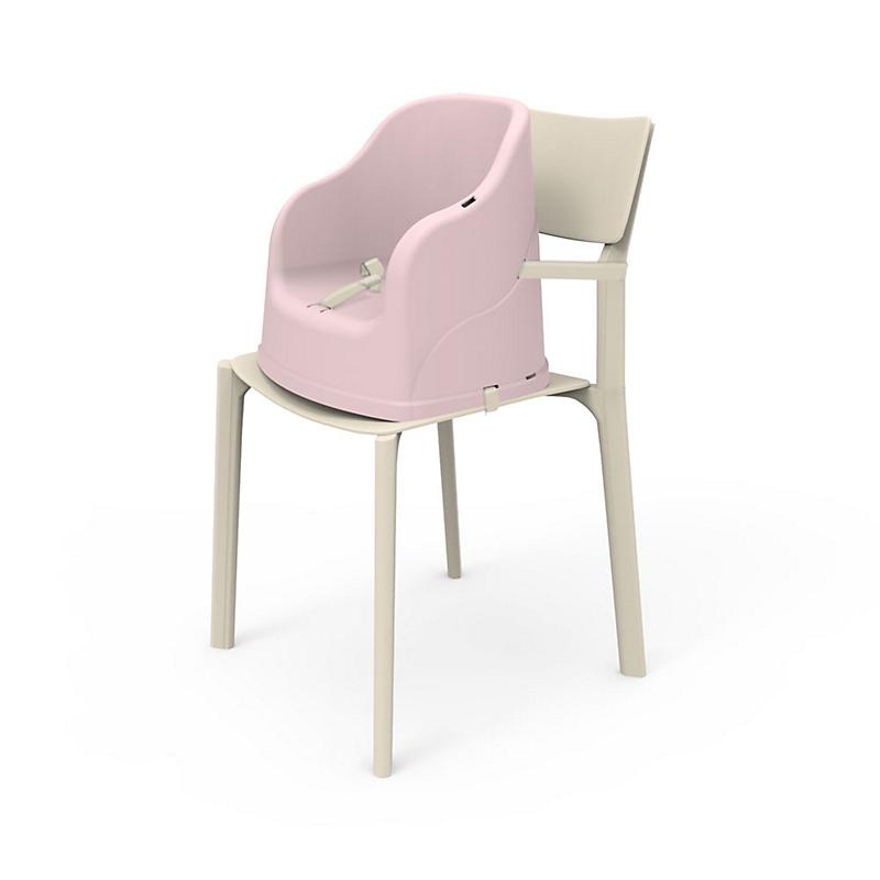 Réhausseur de chaise monobloc Tudi rose poudré - THERMOBABY