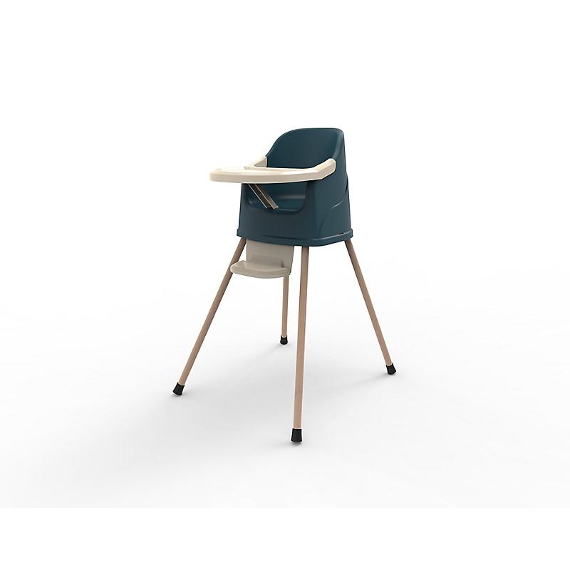 Chaise haute 2 en 1 bleu océan - THERMOBABY