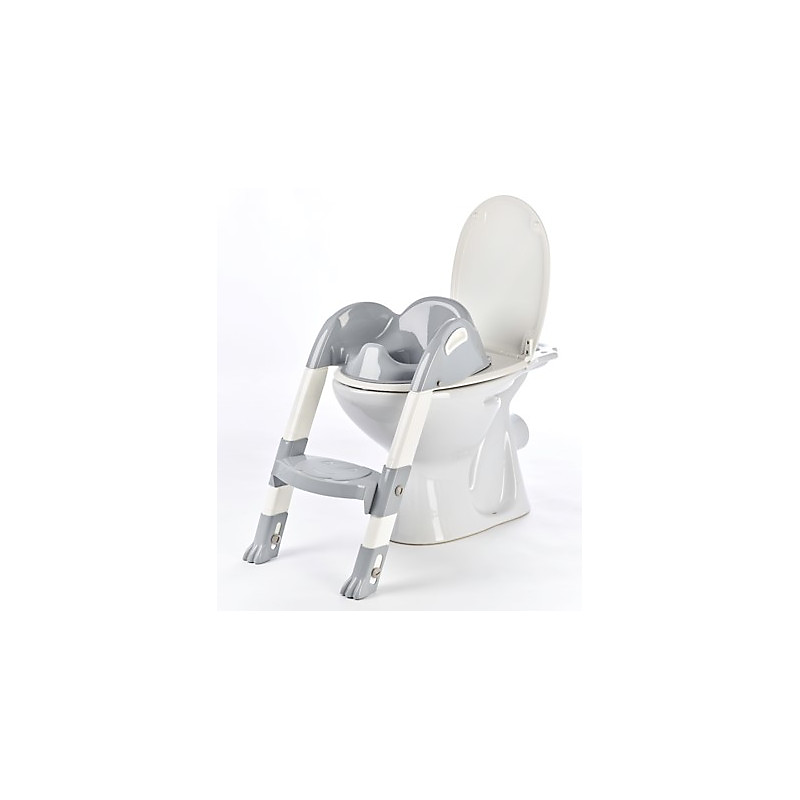 Réducteur WC Kiddyloo® gris charme THERMOBABY