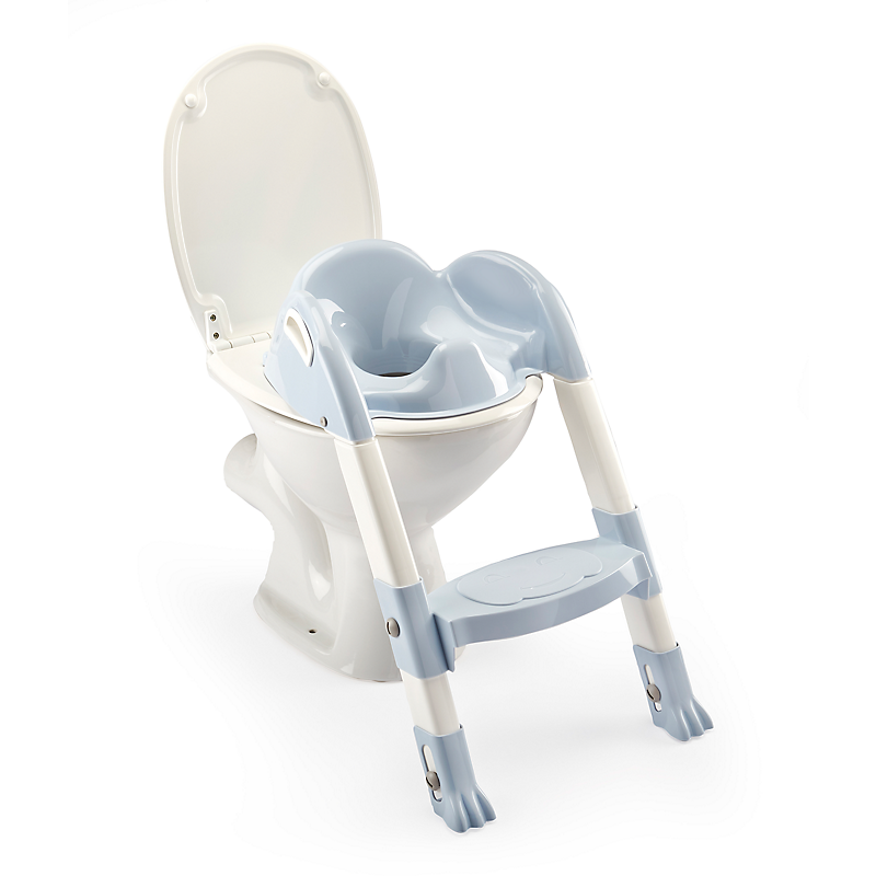 Réducteur WC Kiddyloo® bleu/blanc THERMOBABY