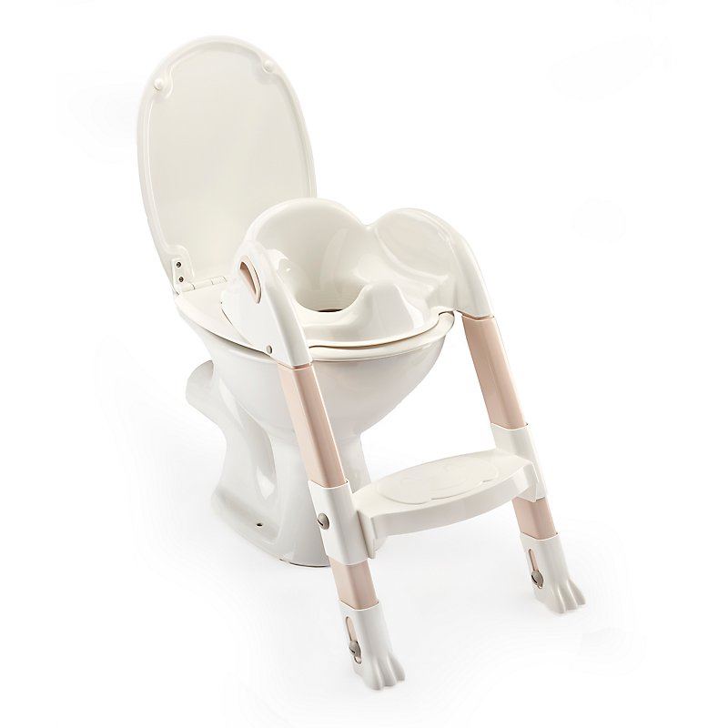 Réducteur WC Kiddyloo® marron glacé/blanc THERMOBABY