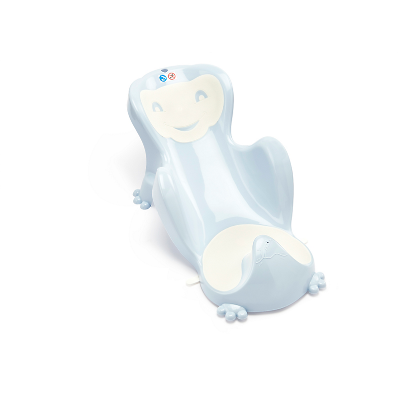 Transat de bain Babycoon bleu/blanc cassé THERMOBABY