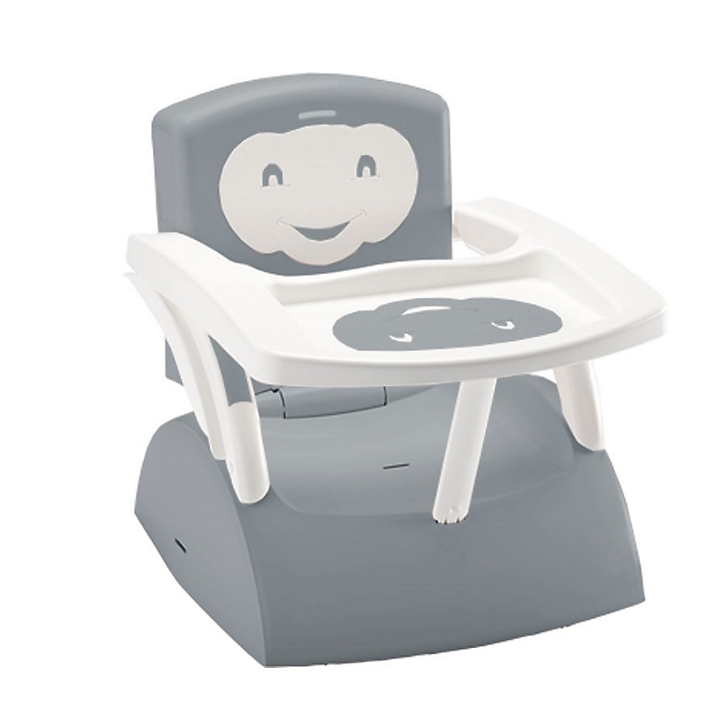 Rehausseur de chaise évolutif 2 en 1 gris charme THERMOBABY