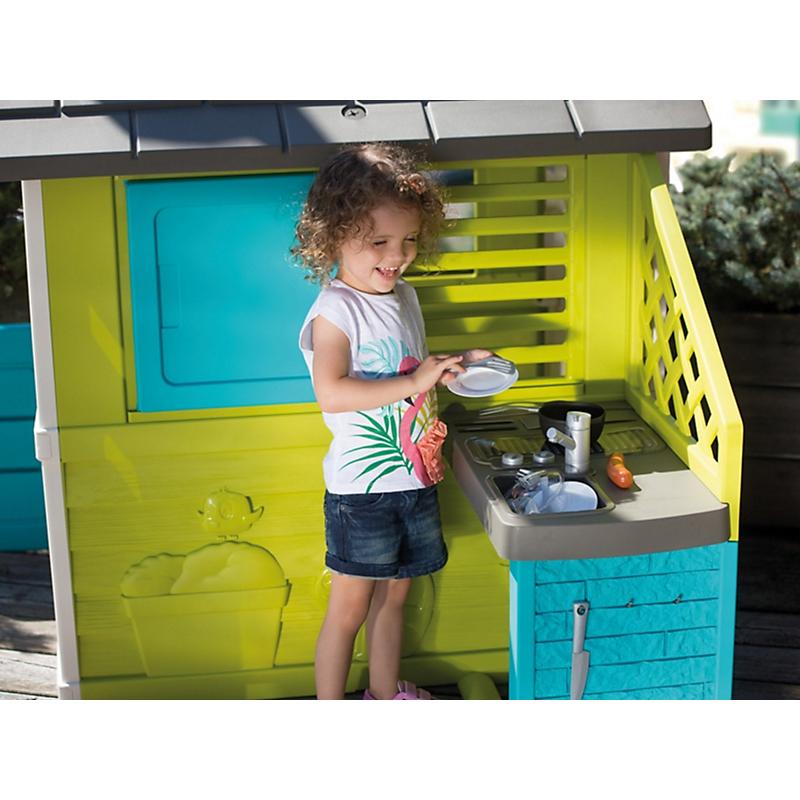 Maisonnette enfant PRETTY + Cuisine d'été - SMOBY