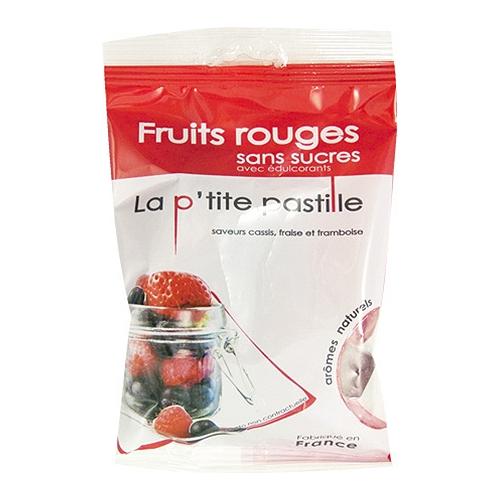 Pastilles fruits rouges  95g