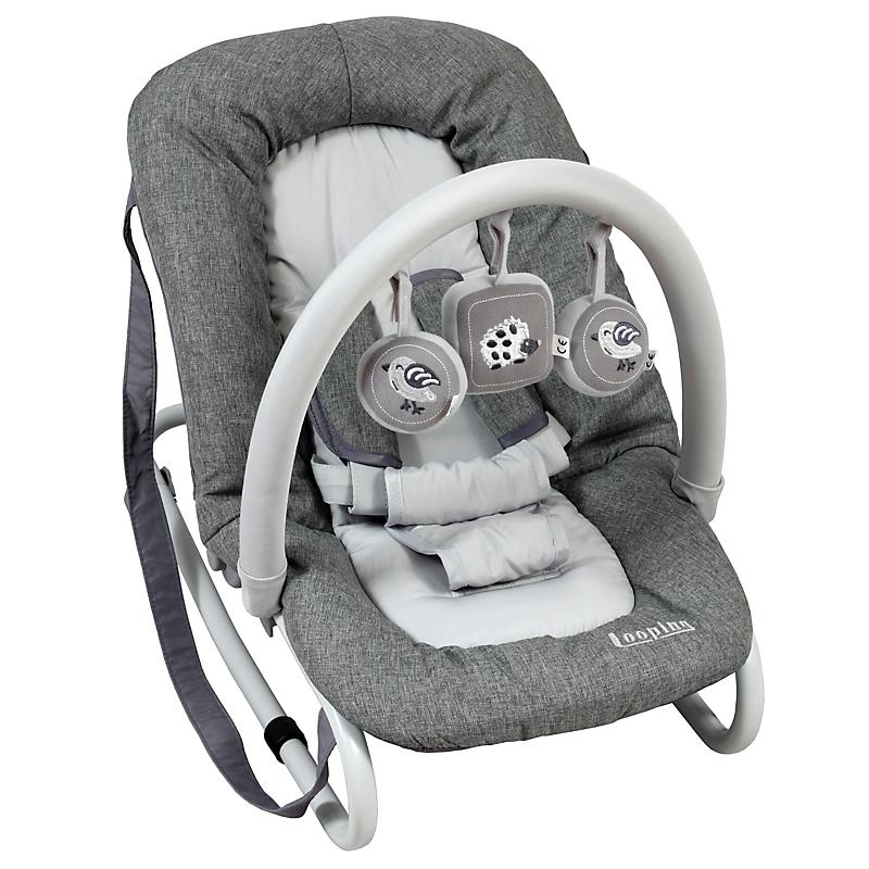 Transat balancelle bébé avec arche de jeux - BAMBISOL