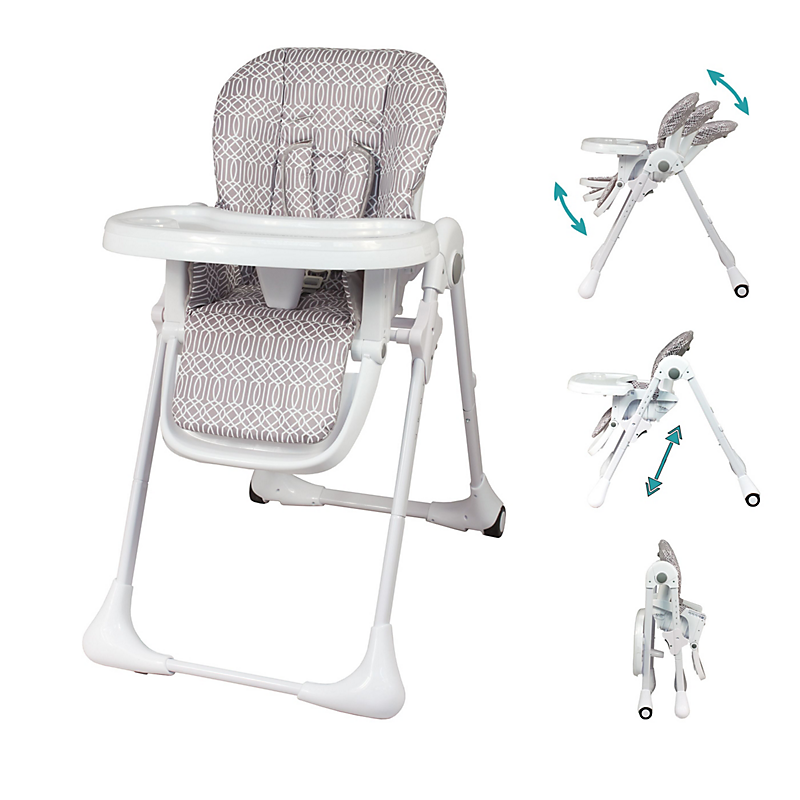 Chaise haute télescopique multipositions BAMBISOL
