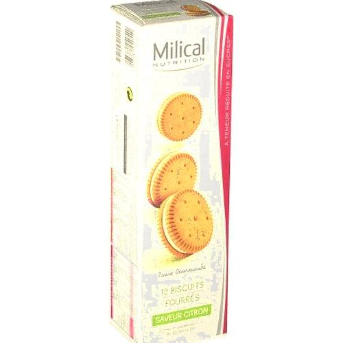 Fourre citron milical x 12