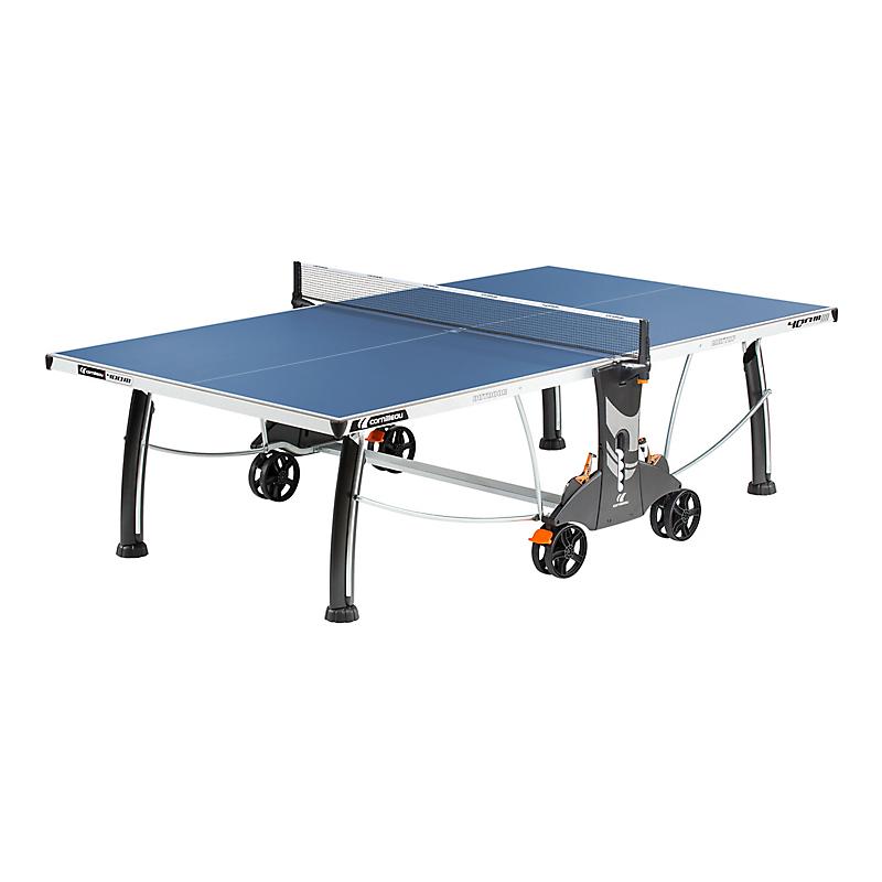 Table de ping-pong bleue 400M Crossover Outdoor